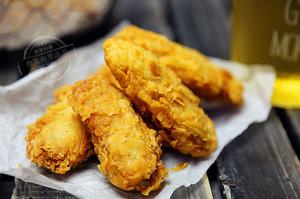 Crispy Chicken Wings(4pc) 金牌香脆鸡翅